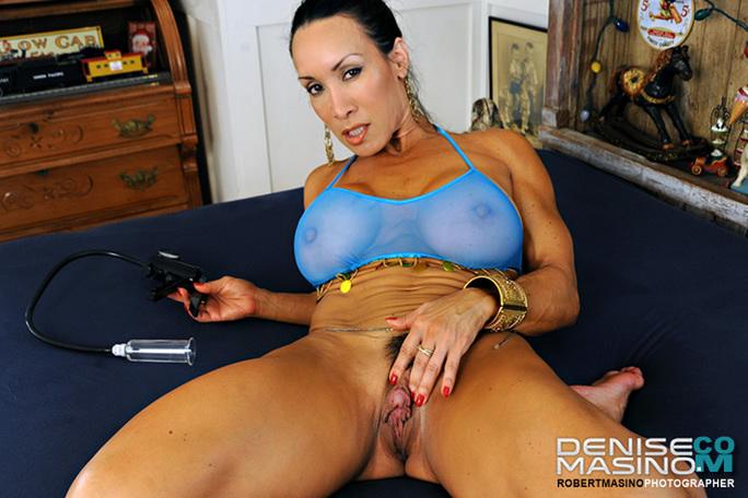 image Denise masino garter shoot female bodybuilder